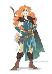 Merida the Ranger | Disney and Dragons
