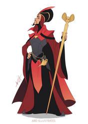 Jafar the Sorcerer by ABD-illustrates