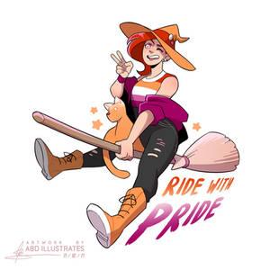 Ride with Pride - LESBIAN [SPEEDPAINT]