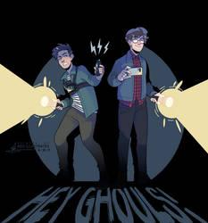 Hey Ghouls! - [SPEEDPAINT]