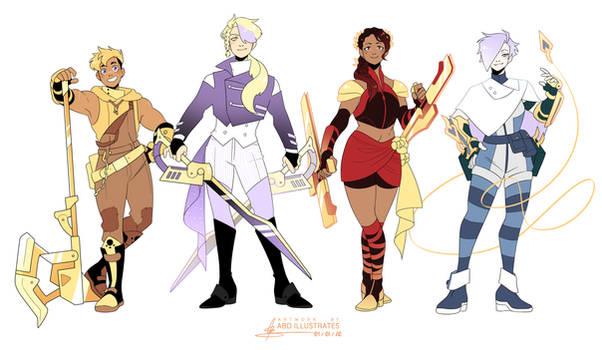 Team GOLD | SPEEDPAINT