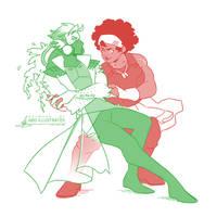 JIVE - Doc + Dahlia [SPEEDPAINT]