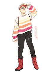 Animal Crossing Fashion Sketch #4
