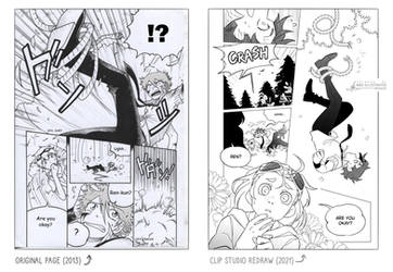 CORE - Clip Studio Page Redraw (Side By Side)