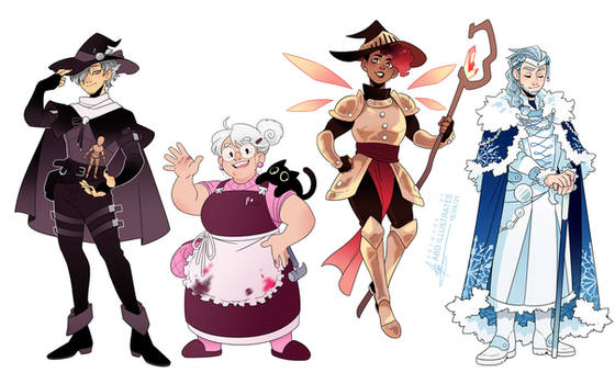 Heartless - Side characters [SPEEDPAINT]