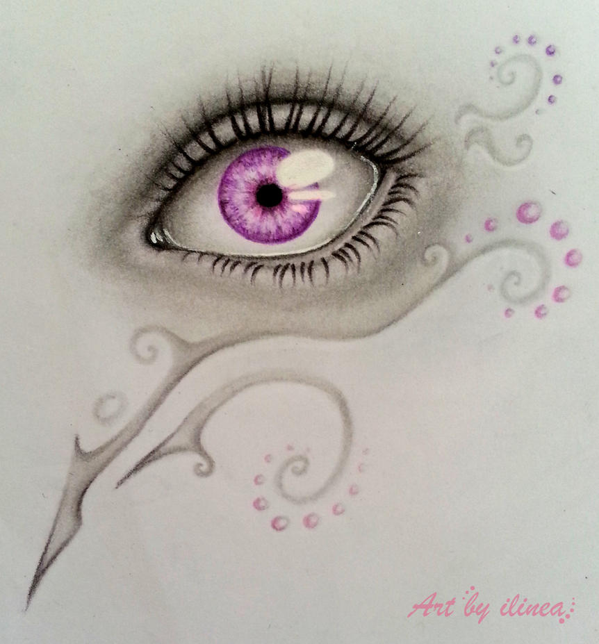 Purpel Eye by ilinea