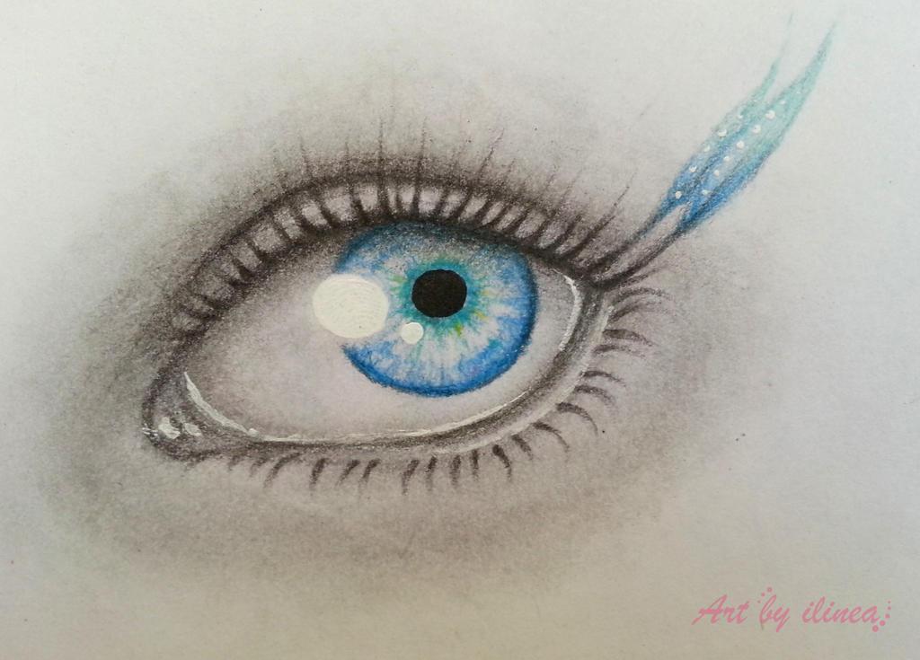 Blue eye by ilinea