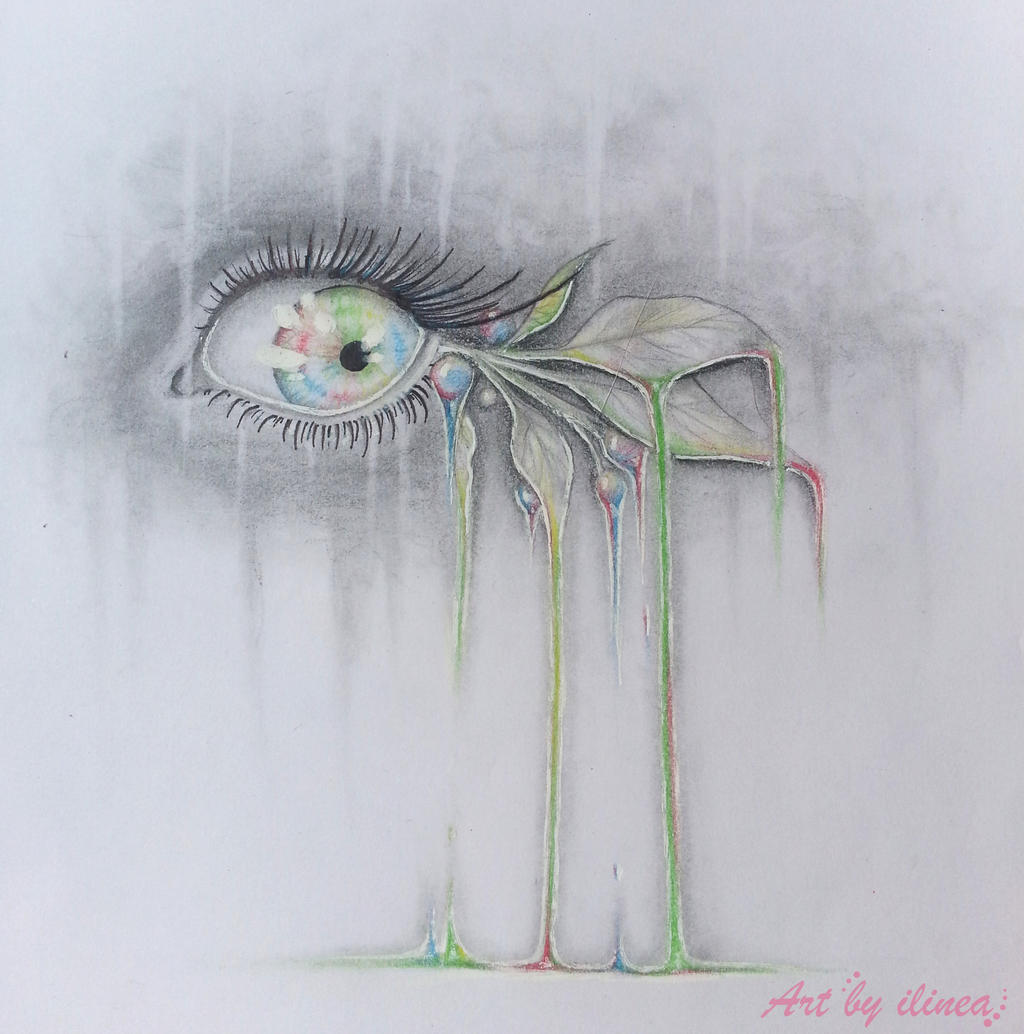 We run out of colours (eye) by ilinea