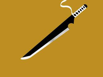 iPad Sword Drawing by aznnerd09