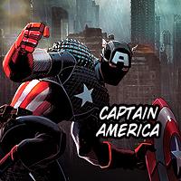 Captain America 200px Icon by aznnerd09