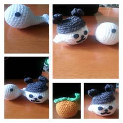 First Crochet Projects by aznnerd09