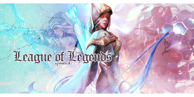 League of Legends - Ashe Signature by aznnerd09