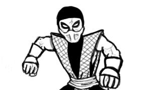 Scorpion MK2 sketch by Ruyc