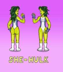 She Hulk portrait