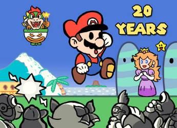 Paper Mario 20 anniversary