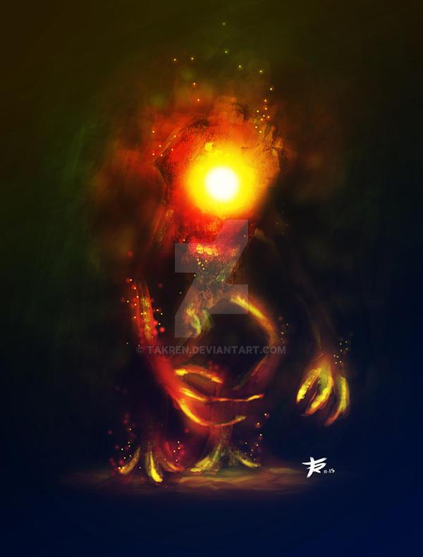 Fire Elemental by takren