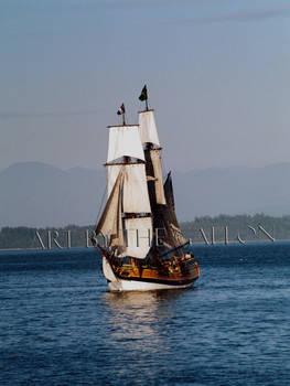 Lady Washington strait on view