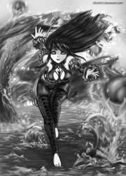 Elementalist -Water Spirit by ShinDnC