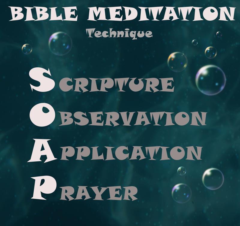 S.O.A.P. Bible Meditation by saykha on DeviantArt