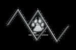 R: musicwolfey logo by monochrome-penguin