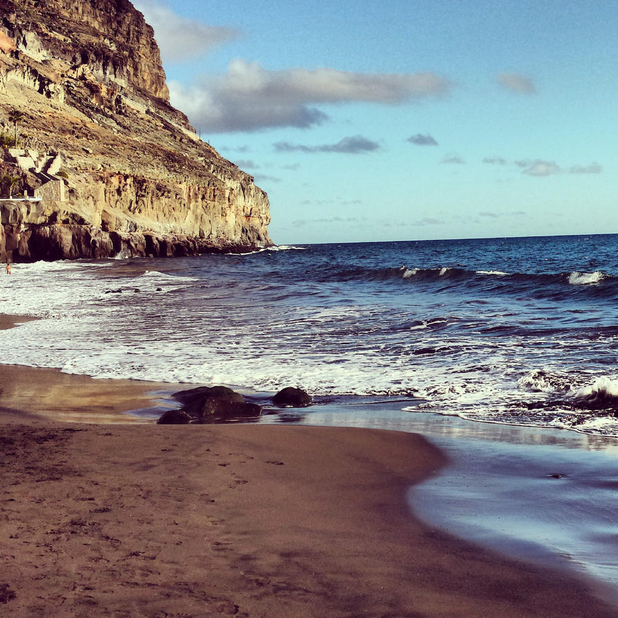 Playa de Taurito by miine