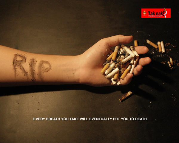 campaign against tobacco from tomorrow in