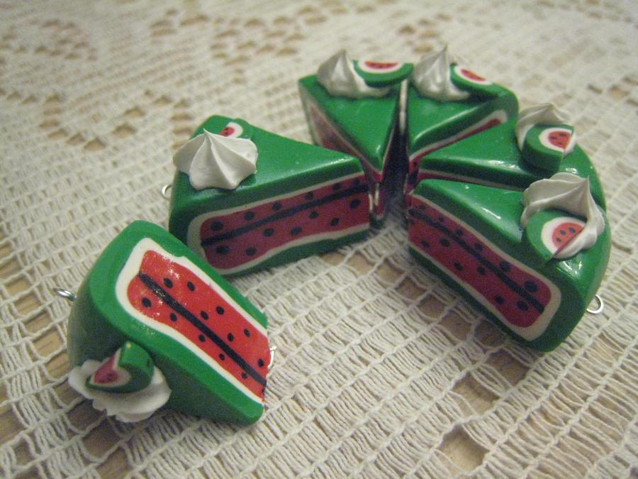 Pics Quiz Cake Art Mon : Watermelon Cakes by MonaxCorona on deviantART