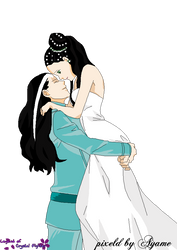 Ayame and Livan by CrystalNight87