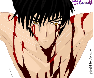 Ryan blood by CrystalNight87