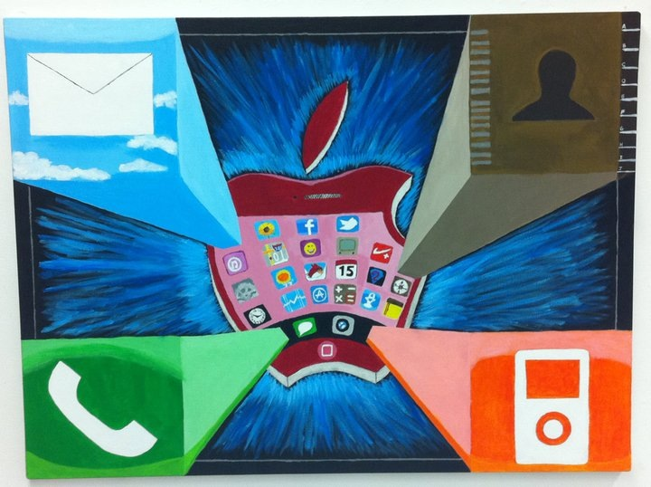 Apple Iphone by FXartist1977