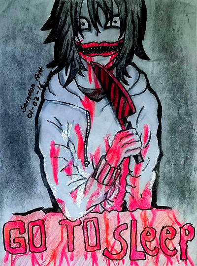 Jeff The Killer - Jeffrey Woods by SeindonArt
