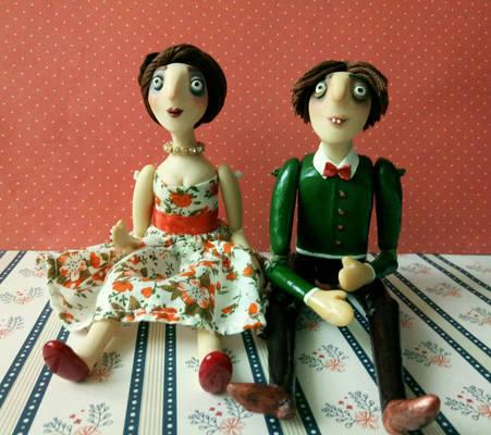 Couple of dolls
