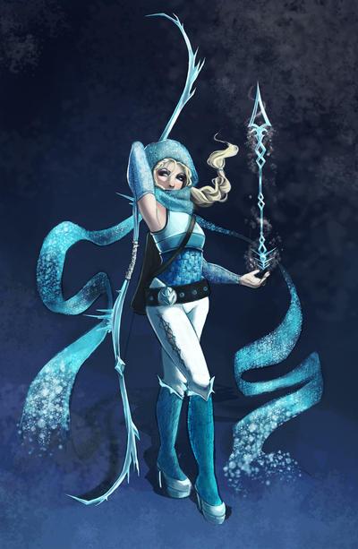 Elsa-Archer Final by shanalikeanna