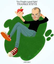 The Warrior Steve Jobs by VencysLao