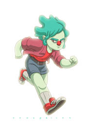 Run Boy, Run by VencysLao