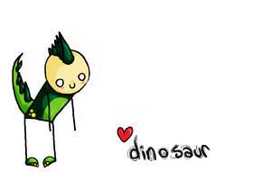 .imma dinosaur. by anythingliketoday