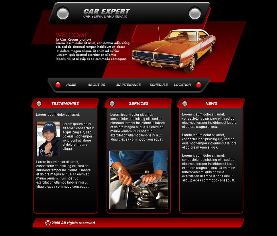 car service web template by player designer on deviantart. Black Bedroom Furniture Sets. Home Design Ideas