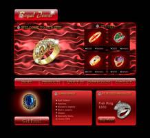Jewel store web template