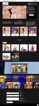 Casablanka dance studio web site by Player-Designer