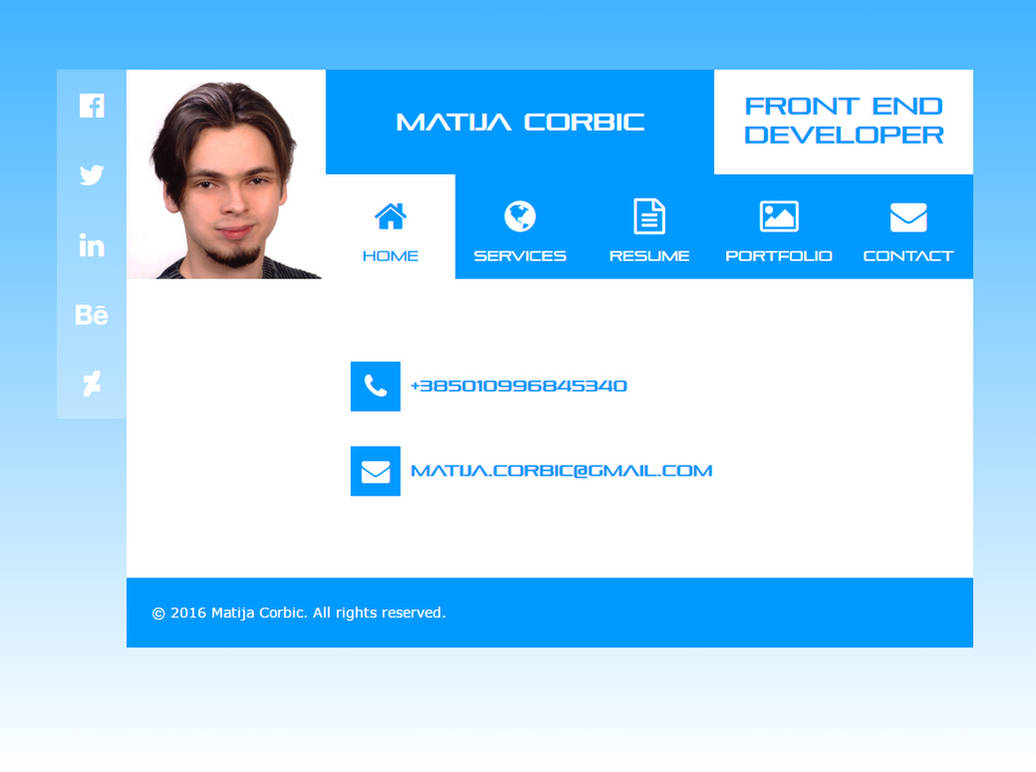 My new personal web site by Player-Designer on DeviantArt