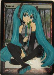Mishra's AA 107 Hatsune Miku by Mishra19