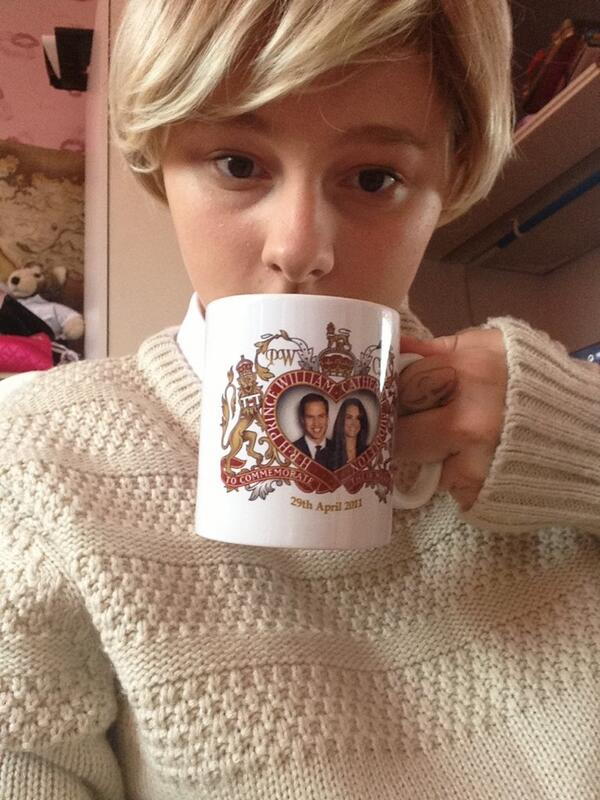 John Watson: A cuppa tea with the Royal family. by potatoo000
