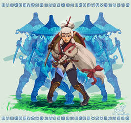 Young Impa readies for battle!