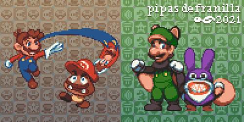 Mario Odyssey + New Super Luigi U
