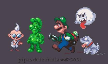 Luigi's Mansion 3 gang