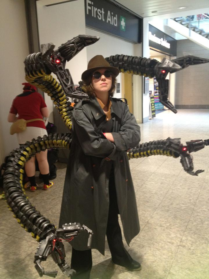 Doc Ock Cosplay Completed By Retrotrooper On Deviantart