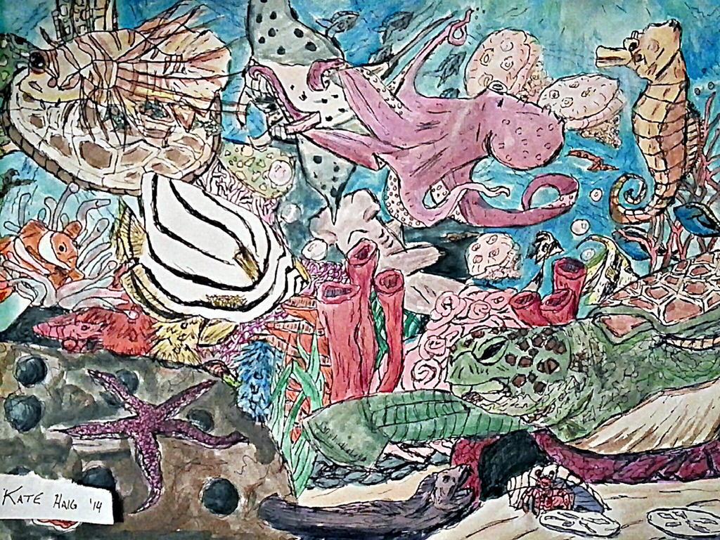 .:sea floor:. by ArtisnotanAccident