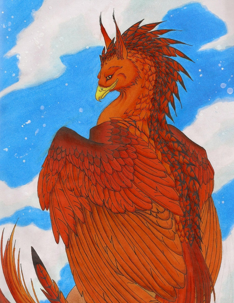 A Gryphon's Perch by Sky-Shifter