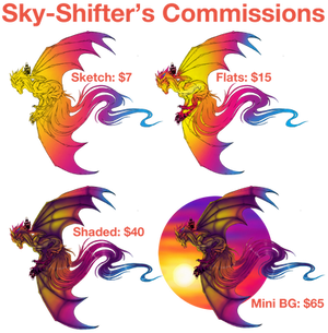 Sky-Shifter's Commissions: OPEN