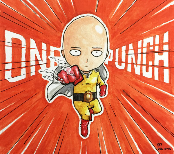 One Punch Man by gumbug